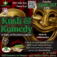 Kush Komedy Flyer