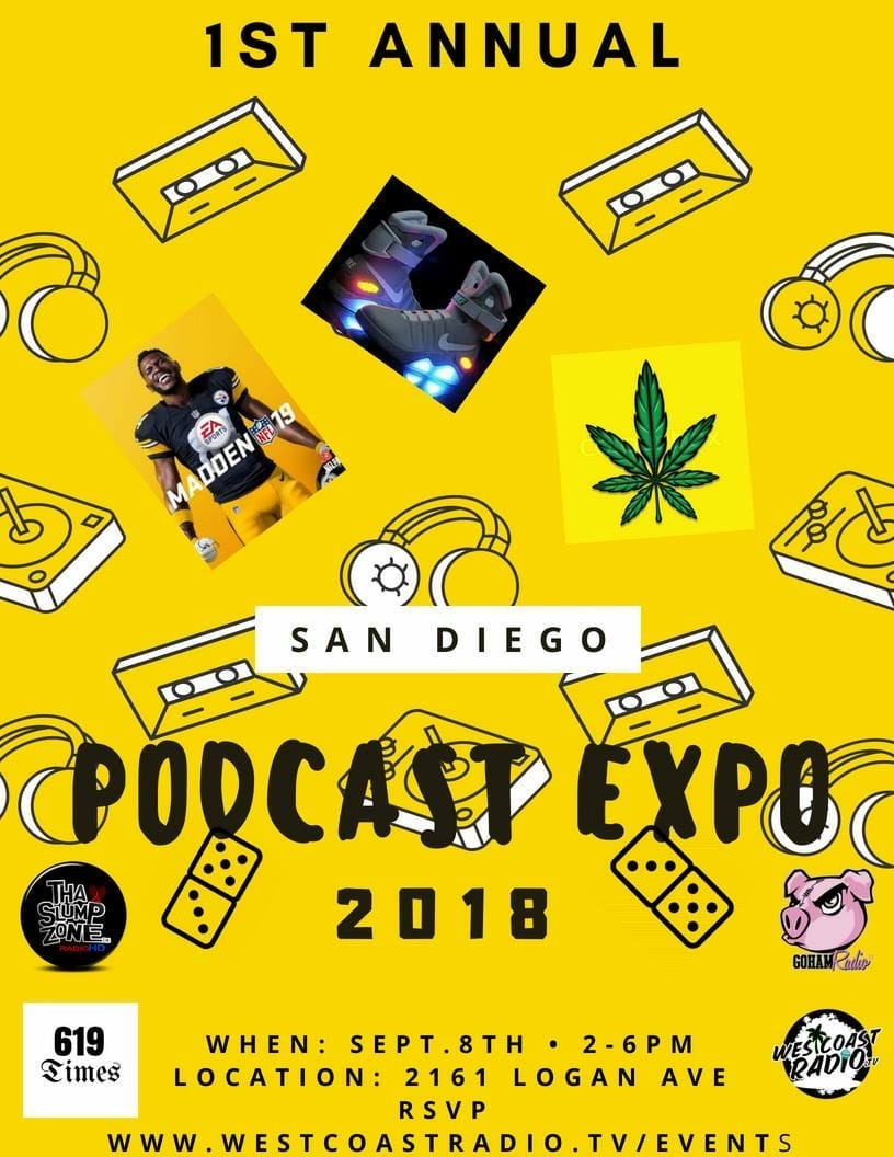 SD's 1st Annual Podcast/Kush Expo