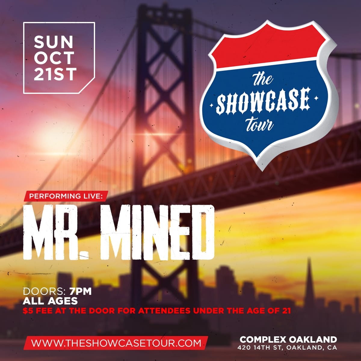 The Showcase Tour - Oakland