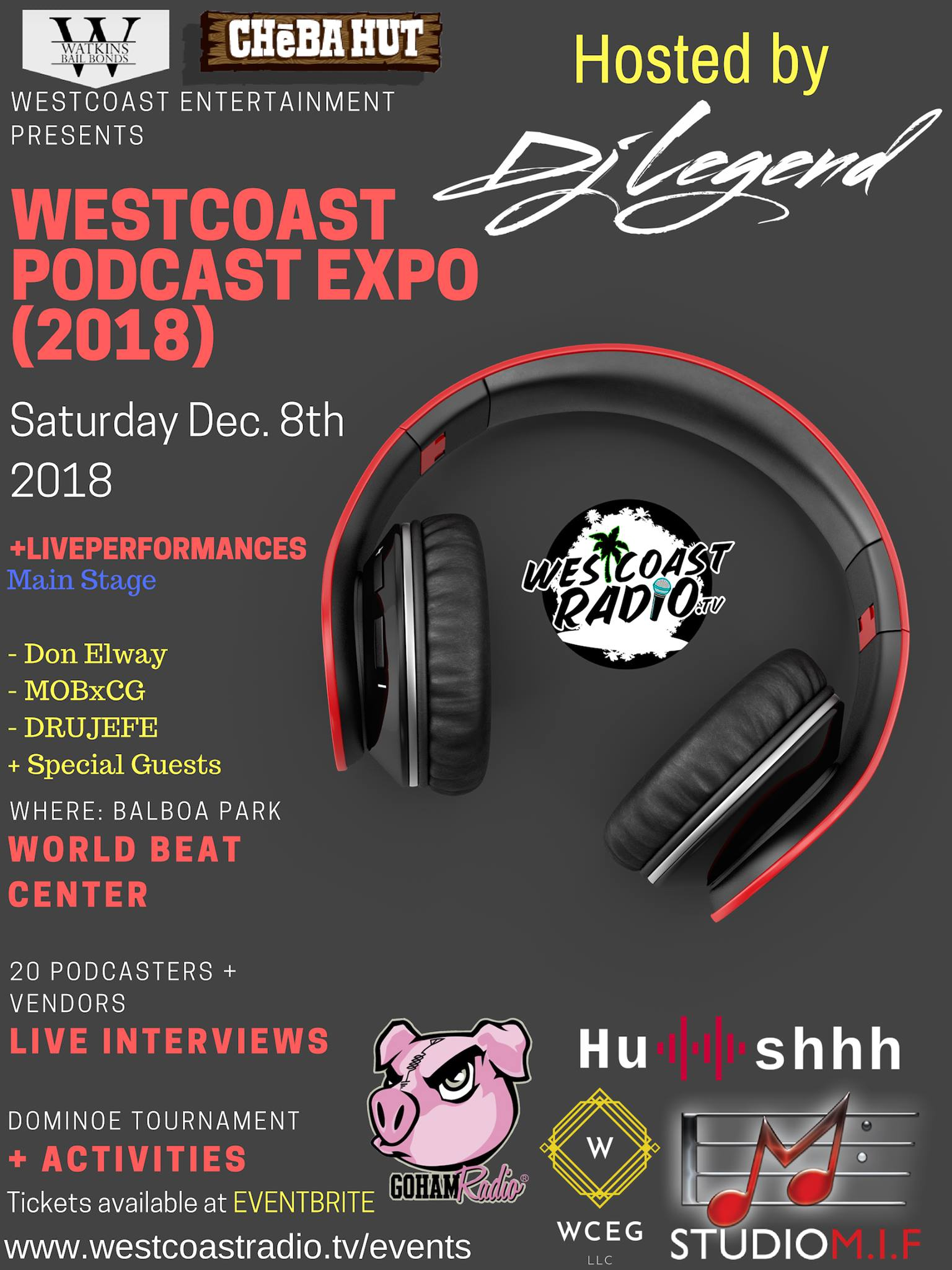 Westcoast Podcast Expo
