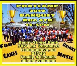 PHATcamp Softball Banquet