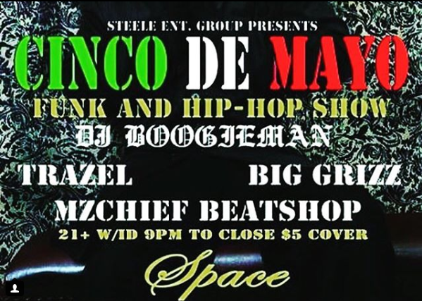Cinco De Mayo at Space Bar