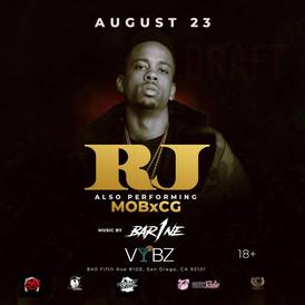RJ at Vybz Nightclub