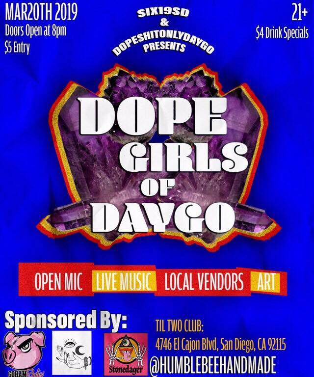 Dope Girls Of Daygo