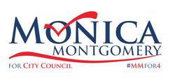 Monica Montgomery Press Event