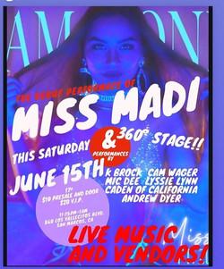 Miss Madi Debut Performance