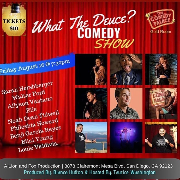 What the Deuce Comedy Show