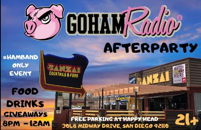 GoHAM 2yr Anniversary Afterparty