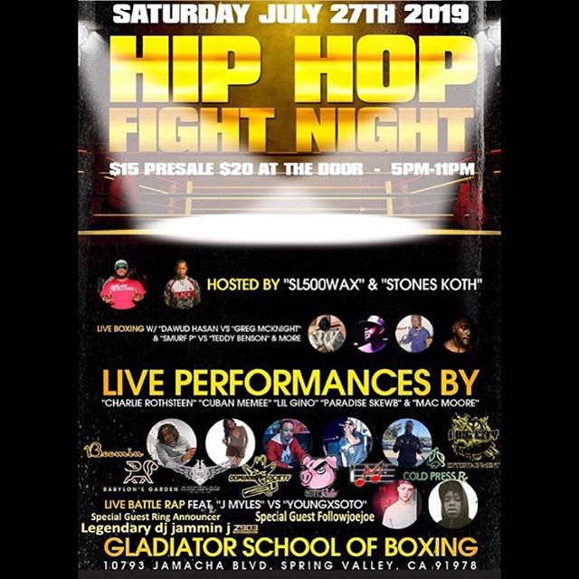 Hip Hop Fight Night