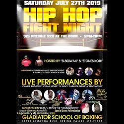 Hip Hop Fight Night