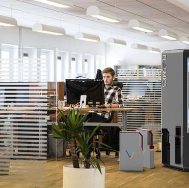 K1600_Plasmics_3D Drucker_Office_1A_Ohne