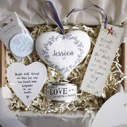gift hamper for friends | personalised friendship gifts