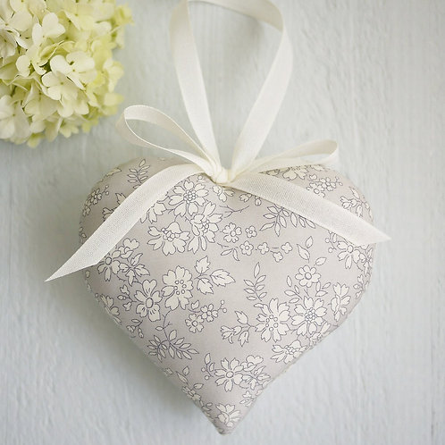 cotton anniversary gifts | personalised cotton heart