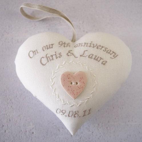 9th wedding anniversary uk