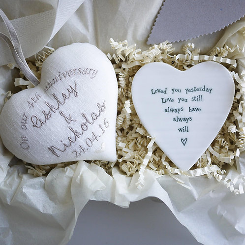 4th wedding anniversary gifts