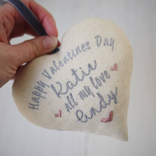 personalised valentines day heart | valentines gifts