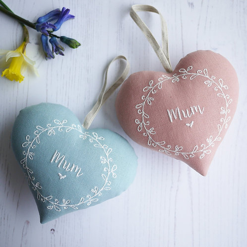 personalised mothers day gift | personalised heart for mum