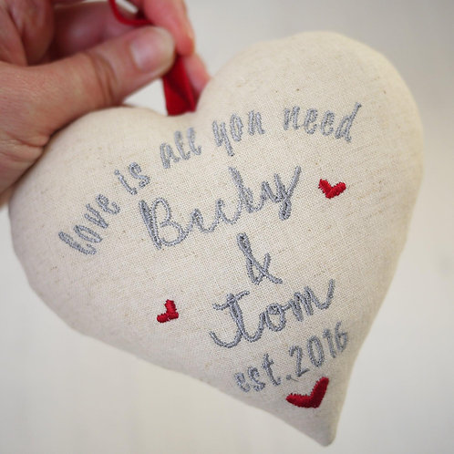 personalised valentines gift | valentines day heart