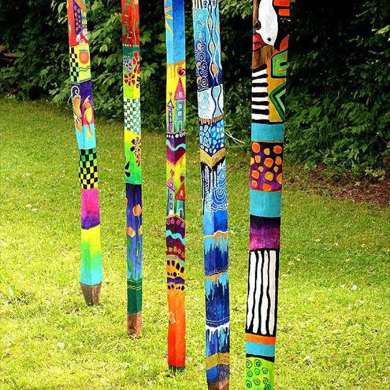 Garden Wishing Sticks