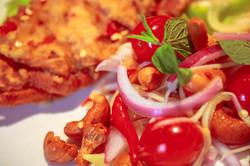 Soft Shell Crab Salad 2-2