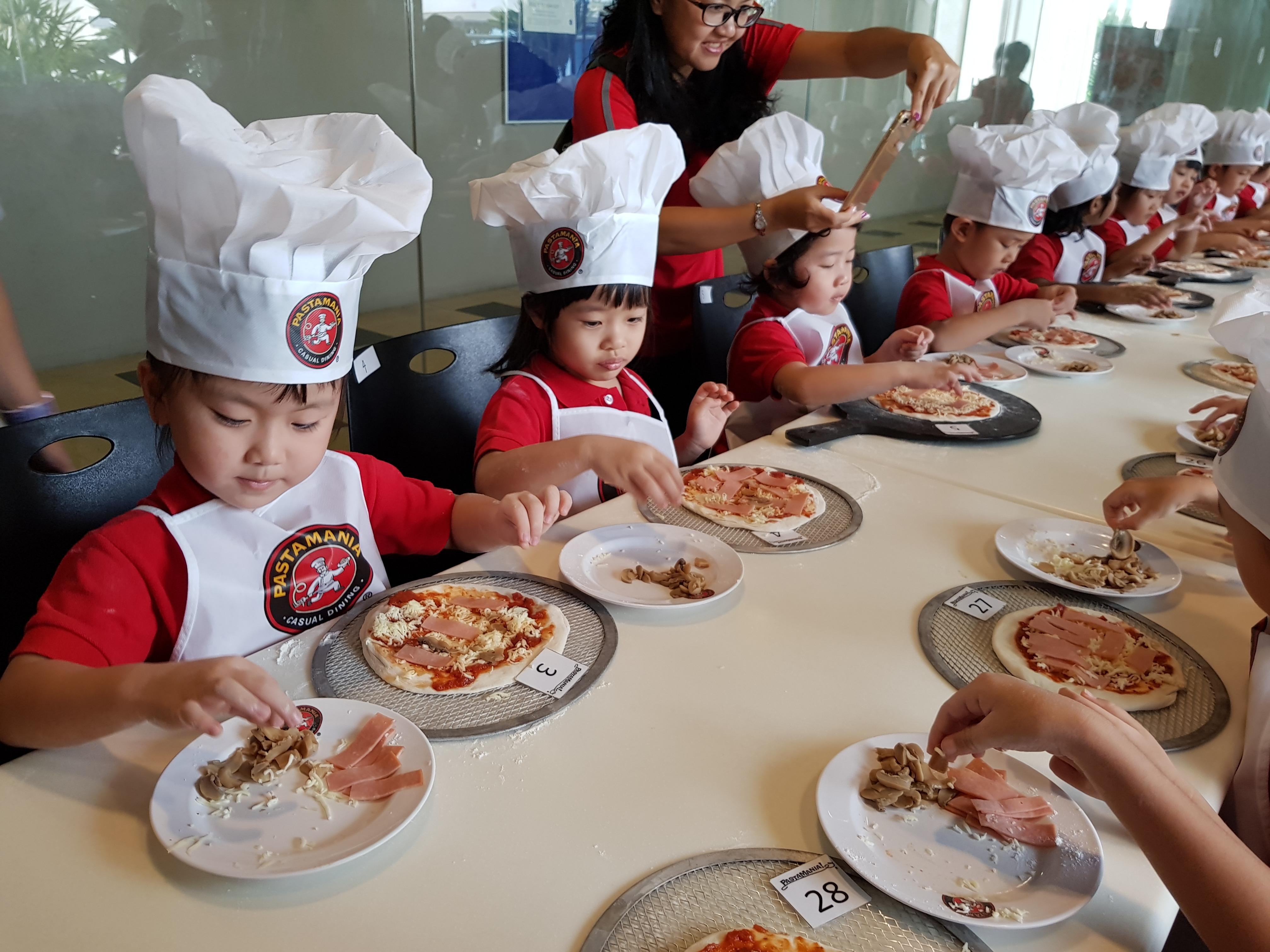 K1 Pizza Making