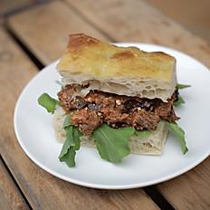 Vegan Sandwich - Spicy Aubergine Caponata