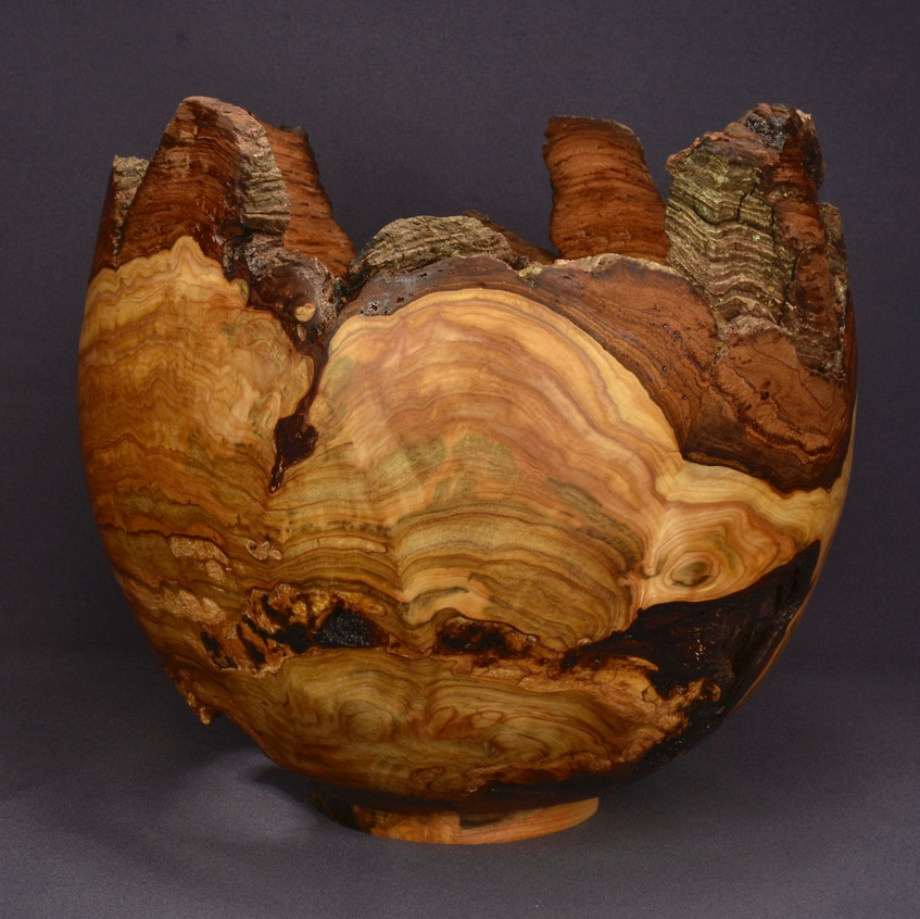 Cedar Burl Bowl