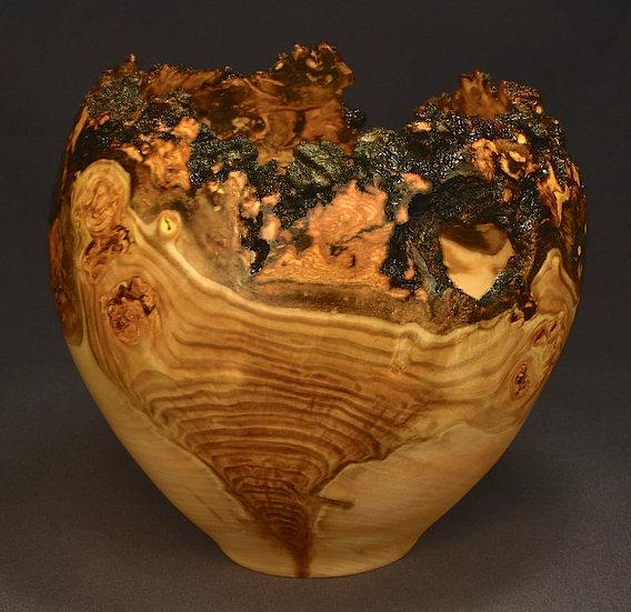 Teardrop Aspen Burl Bowl (19SF5) SOLD