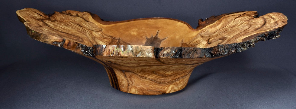 Spalted Birch Burl Bowl (20SF1) SOLD