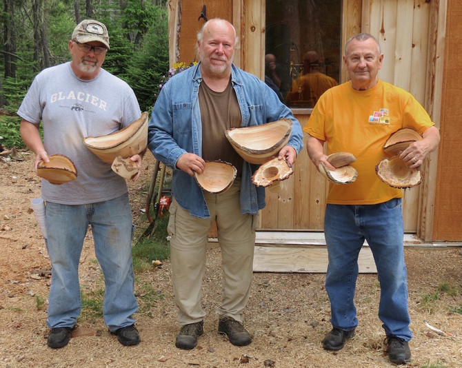 Artistic Bark Edged Bowl Woodturning Class (July 20-22, 2017)