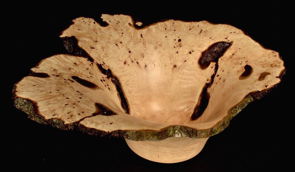 American Hornbeam Burl Bowl (17SF76) SOLD