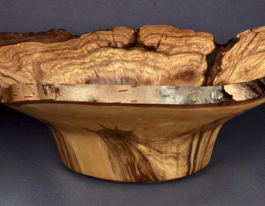 Spalted Birch Burl Bowl