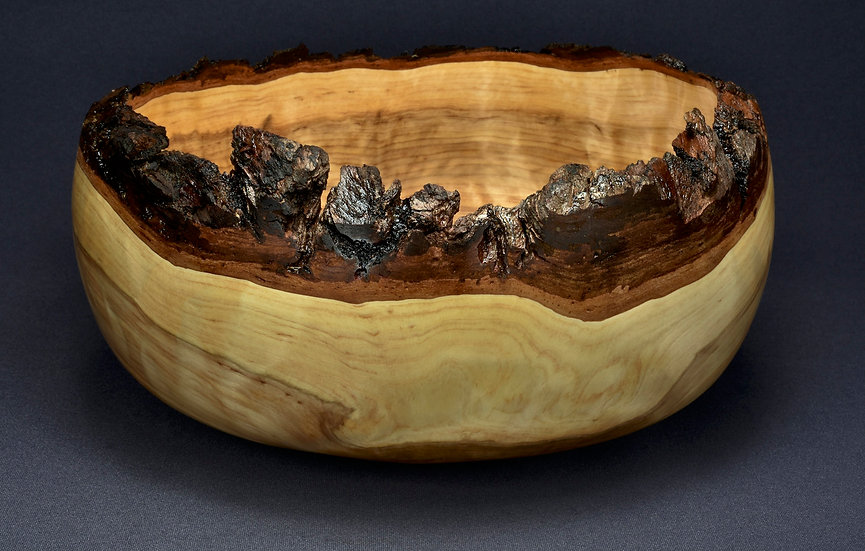 White Cedar Burl Bowl (20SF28)
