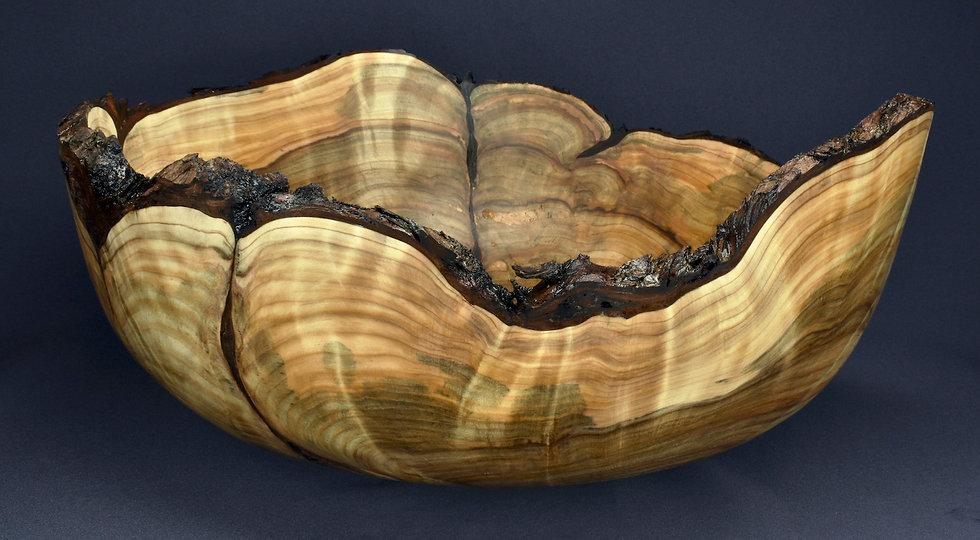 Large White Cedar Burl Bowl (20SF30) SOLD