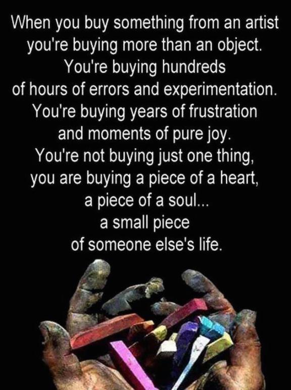 Why Buy Handmade Art?