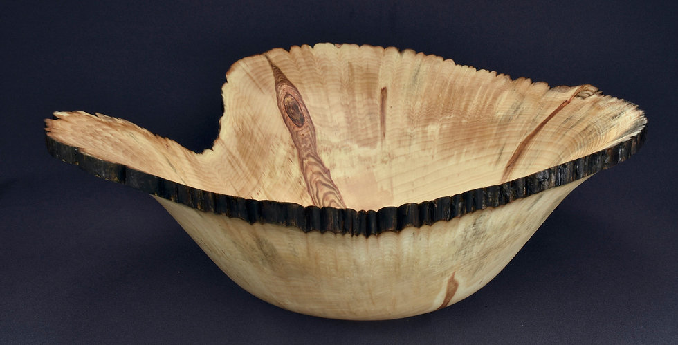 Balsam Poplar Live Edged Bowl (21WS12)
