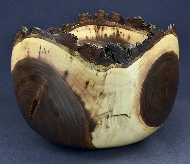 Black Walnut Crotch Bowl (21WS17) SOLD
