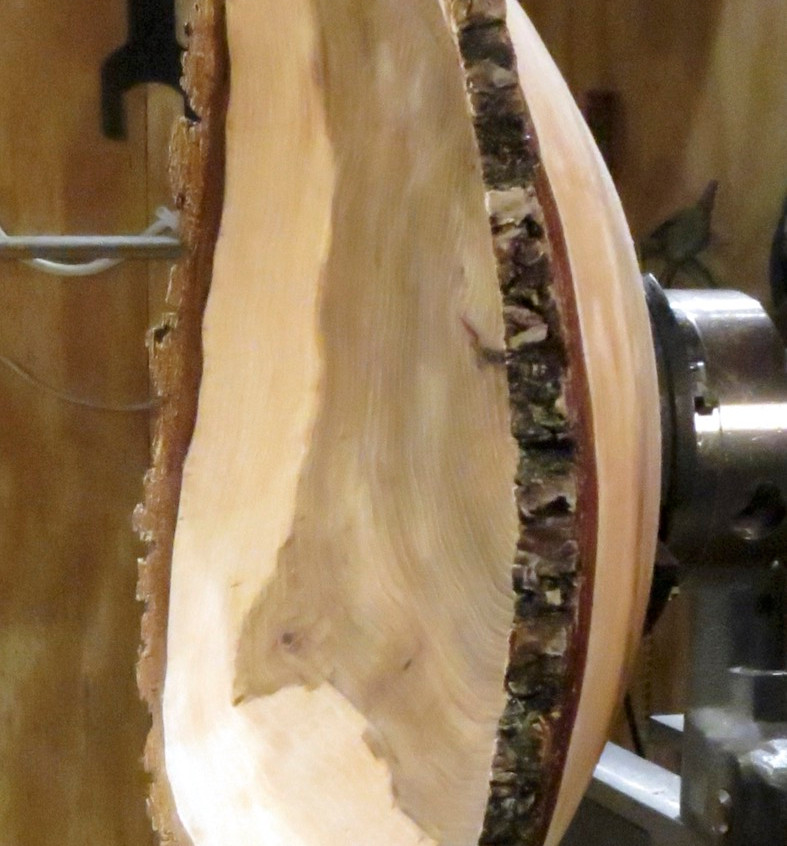 Side View of Elm Bowl