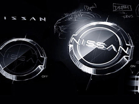 Nissan has unveiled a new and improved logo design