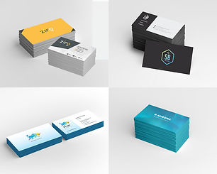 Business card, stationary design sample