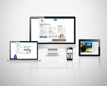 Website design, responsive apps, visual design