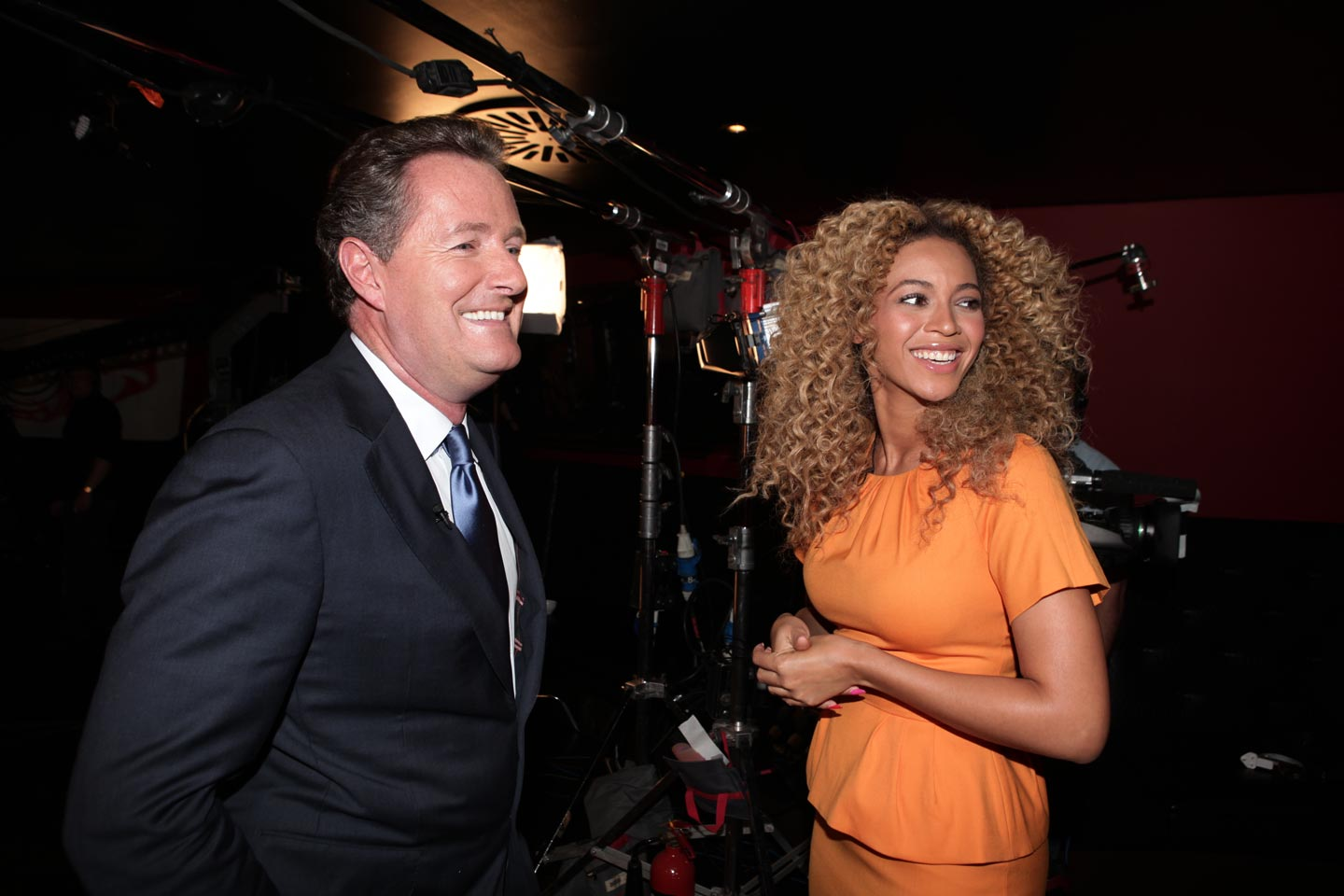 PIERS AND BEYONCE