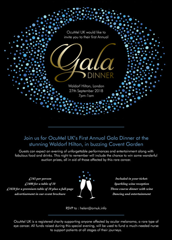 Star-studded Gala to raise thousands for cancer charity