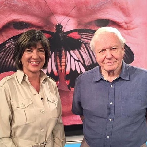 A great honour. #sirdavidattenborough. A true gentleman