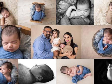 Newborn Session Roseville Photography Studio