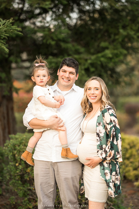 Outdoor Maternity Session, Lincoln CA