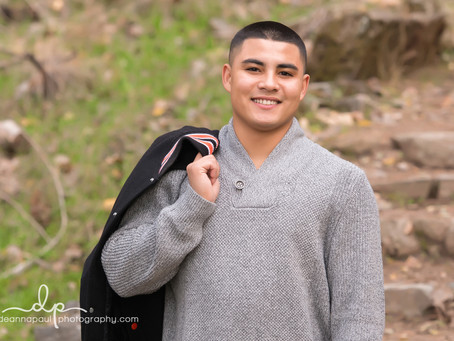 Roseville Senior Photographer