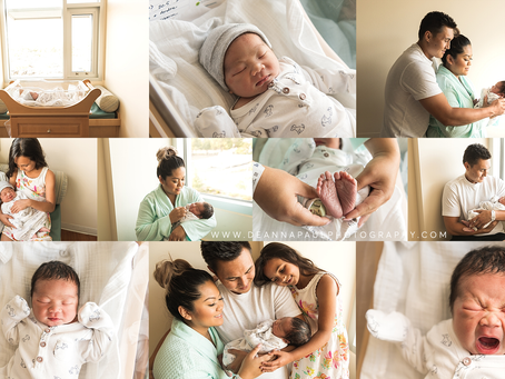 Newborn Fresh 48 Session