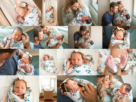 Roseville Photographer | Newborn Fresh 48 Session