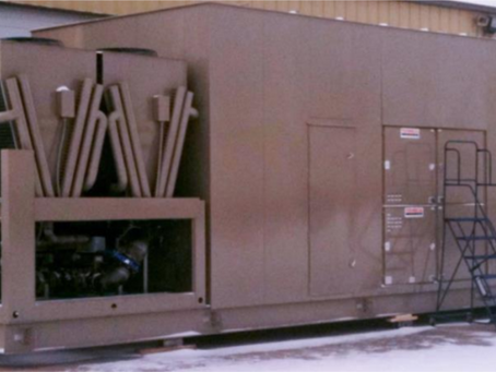 700 Ton Process Chiller System with Free Cooling